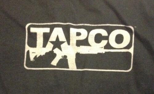 T-Shirt Black TS10 XL BLACK Size XL TAPCO Don/'t Tread On Me New!