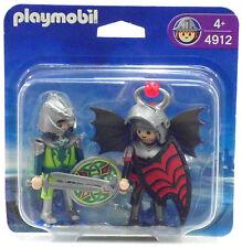 Blister Duo Pack dragón caballero + elbenritter Playmobil 4912 V.' 09 Z castillo OVP nuevo