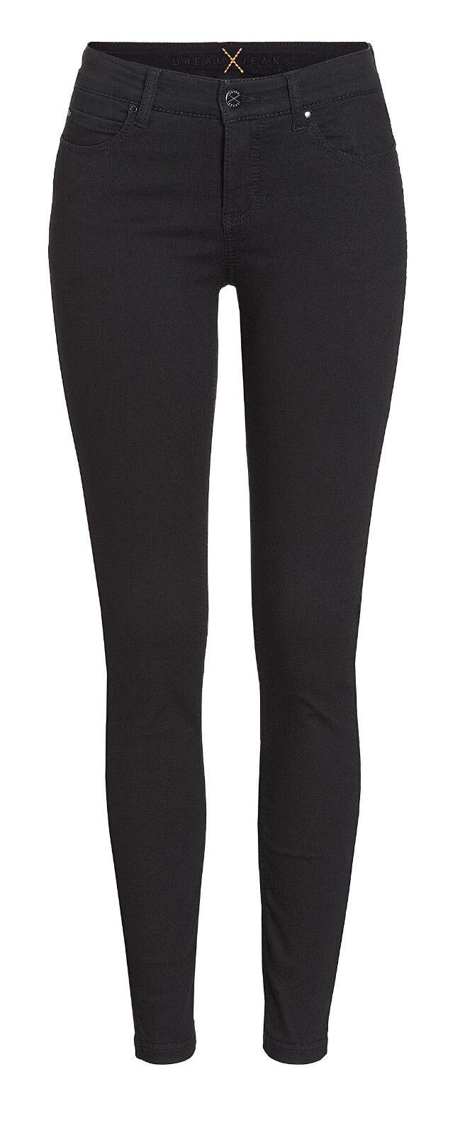 MAC Damen Jeans Dream Skinny 5402 NEU schwarz D999 Alle Größen Längen