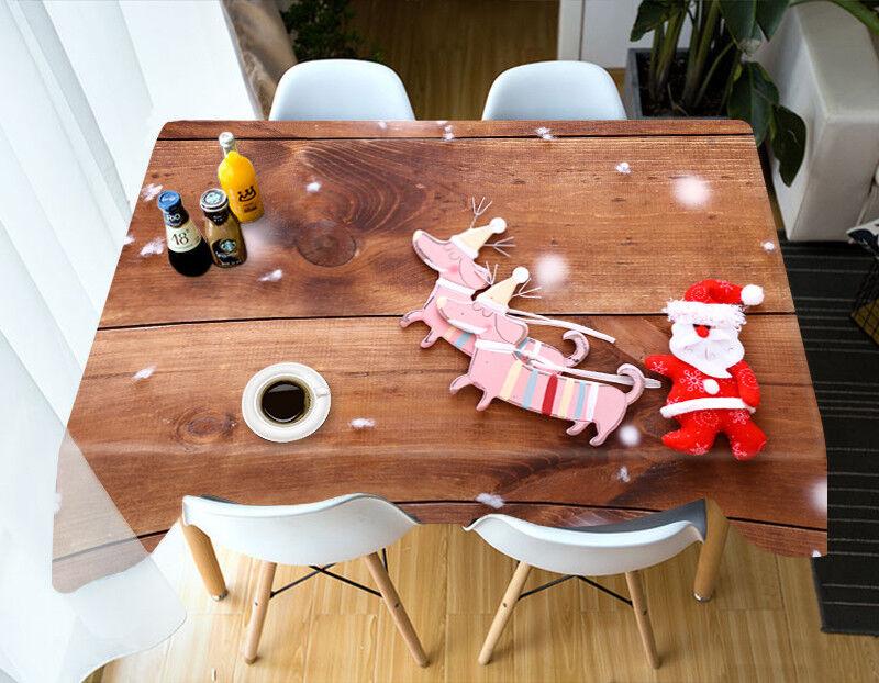 3D Christmas Xmas 43 Tablecloth Cover Cloth Birthday Party Event AJ WALLPAPER AU