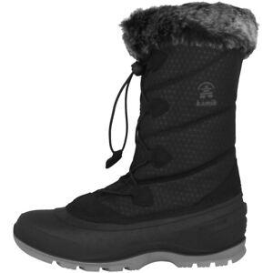 Kamik femmes Bottes neige Bottes Momentum2 Nk2178 noires bottes pour blk d'hiver de IgwIrX4xq