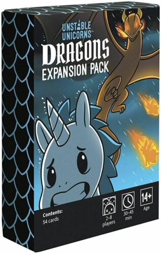 UNSTABLE UNICORNS DRAGONS EXPANSION PACK FOR CARD GAME
