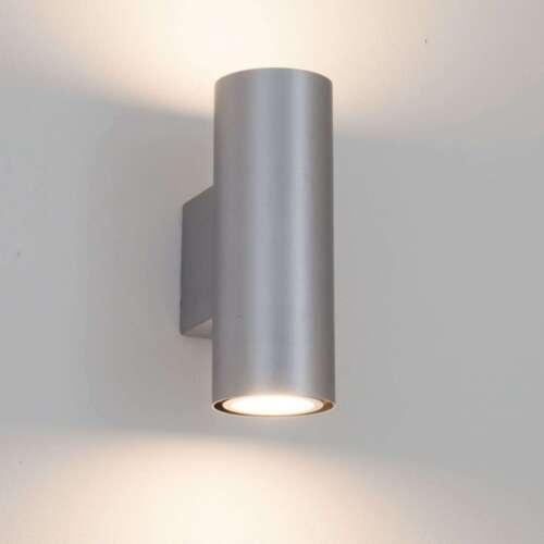 Wandleuchte Kabir Licht Oben Unten GU10 LED Schlicht Lampenwelt Flurleuchte