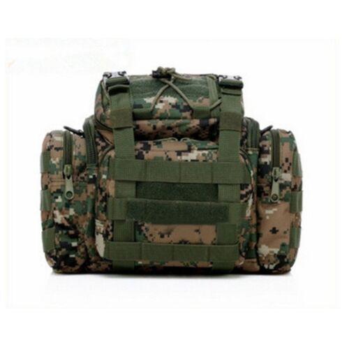 Fishing Hunting Tackle Bag Waist Shoulder Tactical Pack 1000D Water Resistant