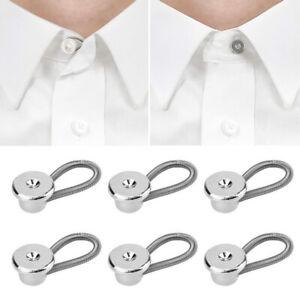 10PCs-Collar-Extension-Button-Pants-Metal-Extender-Buckle-Clothes-Accessories