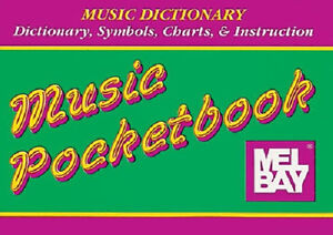 MUSIC-DICTIONARY-MEL-BAY-POCKET-BOOK-CLEARANCE-ON-NOW