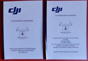 DJI Phantom 3 Advance manual de instrucciones más manual con información adicional