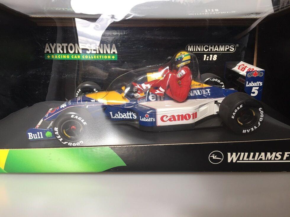 1 18 Minichamps Williams Renault FW14 British GP 1991 Senna