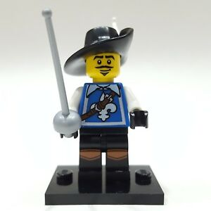 New Genuine LEGO Musketeer Minifig with Foil Series 4 8804