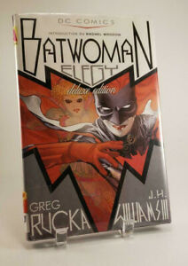 Batwoman-Elegy-Deluxe-Edition-DC-Comics-Rucka-Williams-Hardcover-9781843108528
