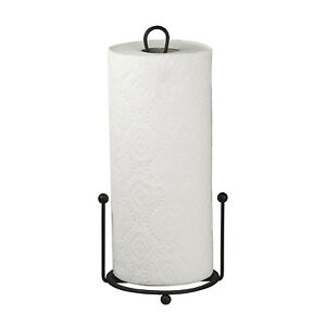 countertop paper towel holder. Image Is Loading Home-Basics-Countertop-Free-Standing-Coated-Steel-Paper- Countertop Paper Towel Holder