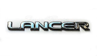 Mitsubishi black Lancer emblem sticker badge GRS EVO ES RS Eclipse Galant