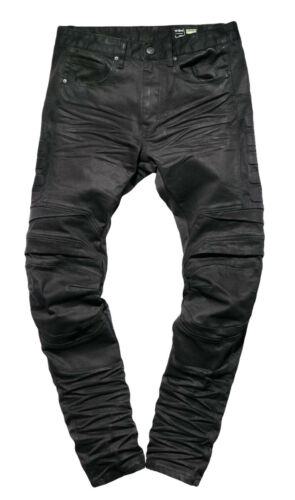 Smoke Rise Men/'s Fashion Moto Biker Denim Jeans