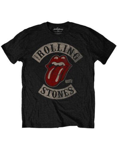 The Rolling Stones Kids T Shirt Tour 78 Band Logo Official Black Ages 1-12 yrs