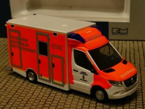 1//87 Rietze GSF RTW ´18 Rettungsdienst FW Eschweiler 76228