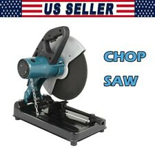 Portable Cut Off Chop Saw 355mm 14inch Blade For Abrasives Amp Metal Usa Stock