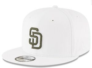 4b952ef096b San Diego Padres New Era MLB Fall Shades White 9FIFTY Snapback Cap ...