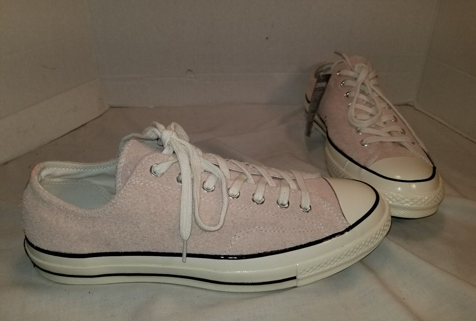 NEW CONVERSE CHUCK TAYLOR ALL STAR '70 DUSK rose SUEDE LO SNEAKERS SIZE hommes 10