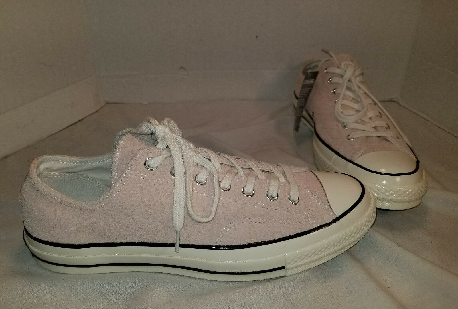 NEW CONVERSE CHUCK TAYLOR ALL STAR '70 '70 '70 DUSK PINK SUEDE LO SNEAKERS SIZE MEN 10 df2c1b