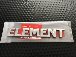 Image Is Loading GENUINE OEM HONDA ELEMENT REAR LIFTGATE HATCH BADGE
