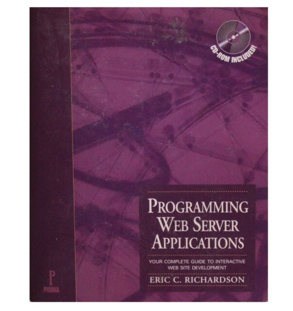 Programming Web Server Applications by Eric Richardson (1996, Paperback)