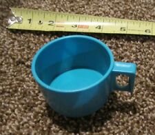 Fisher Price Fun with Food Pretend Play Part Piece Teal Blue Cup Thermos lid