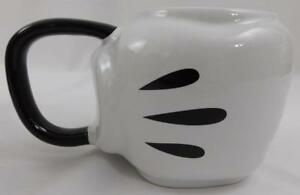 Disney-Store-Mickey-Mouse-Sculpted-Glove-Ceramic-Coffee-Mug-Cup-New