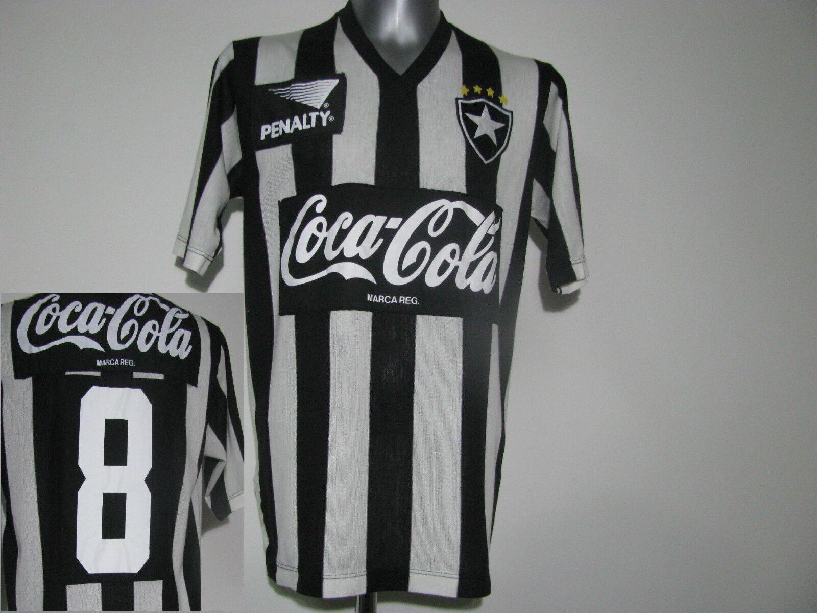 BOTAFOGO Bota Fogo 1989/1990 shirt Penalty  8 LUISINHO Home shirt 1989/1990 trikot camiseta (XL) 7541f4
