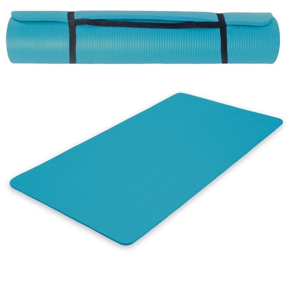 Andet, Yogamåtte 190 x 100 x 1,5 cm blå