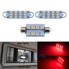 2pcs Map 1pcs Dome Red Led Lights For 1995 1998 Chevy Silverado Gmc Sierra