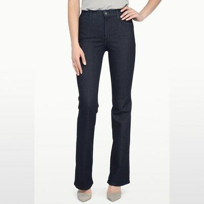 NYDJ Women Petite Sarah Boot Cut Jeans P700T //Dark Blue //0P.