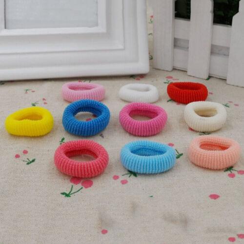 90 Teile paket Elastische Baby Mädchen Handtuch Haarseile Kinder HaarbändAB X0