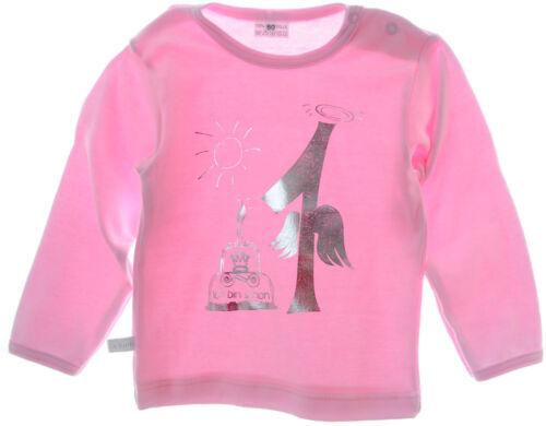 Geburtstag festlich rosa Babyshirt Baby Langarmshirt zum 1