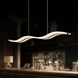 36W-lampadario-moderno-LED-da-soffitto-sospensione-luce-del-pendente-Bar-onda