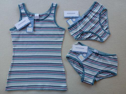 Schiesser fille maillot corps rio-slip pants 95/% coton 140 152 164 176 sous-vêtements