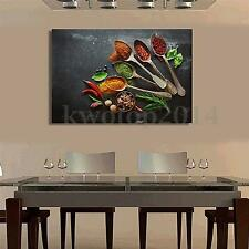 Kitchen Flavors Modern Oil Painting Canvas Print Wall Art Picture Decor UnFramed