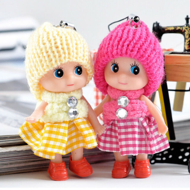 5Pcs Kids Toys Soft Interactive Baby Dolls Toy Mini Doll For Girls and Boys