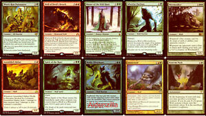 MTG-Wolf-Deck-Master-of-the-Wild-Hunt-Wolves-Magic-the-Gathering