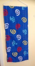 """Blues Clues Valance Curtain 16.5"""" long x 84.5"""" wide Spiral"""