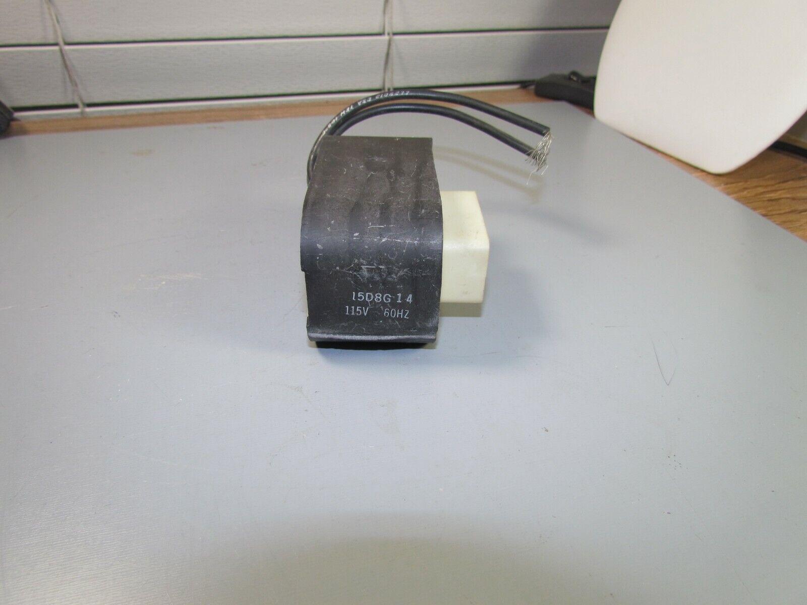 15D8G14 GE Coil 115 volts 60 hz   NOS