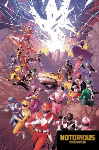 Mighty Morphin Power Rangers #29 Shattered Grid Boom 1st Print EXCELSIOR BIN