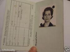 ACCESSOIRE DE CINEMA : FAUX DOCUMENT FILM UNE FEMME D'AFFAIRES JANE FONDA 1981