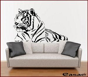 Wandtattoo tiger tiere afrika wandsticker aufkleber for Wandtattoo kinderzimmer tiere