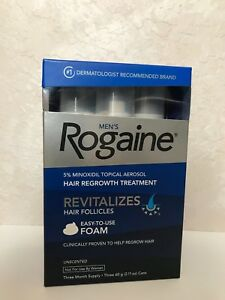 Men-039-s-Rogaine-5-Minoxidil-Hair-Regrowth-Treatment-Foam-3-Months-Supply-NEW