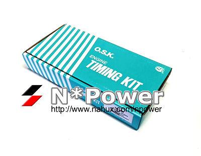 OSK TIMING CHAIN TENSIONER GEAR KIT FOR TOYOTA 1ZZ-FE 1.8 VVTI MR2 Corolla 00-07