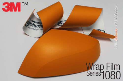 car wrapping 3M Wrap Film 1080 Mat Various colors and dimensions