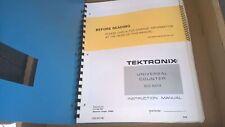 Tektronics Universal Counter Dc 503 Insstruction Manual Service