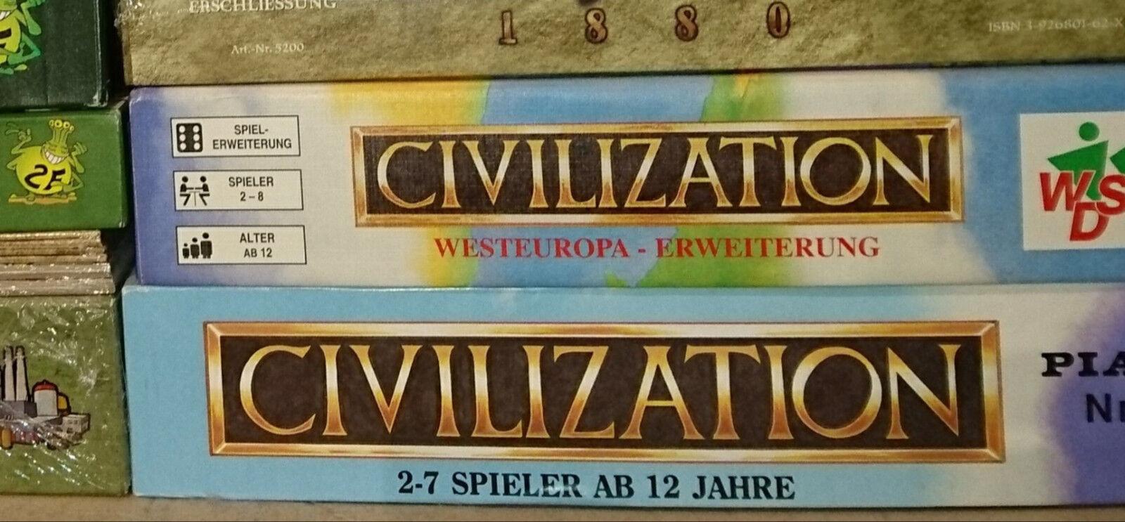Civilization * il classico per lo sviluppo della civiltà * PIATNIK rarità