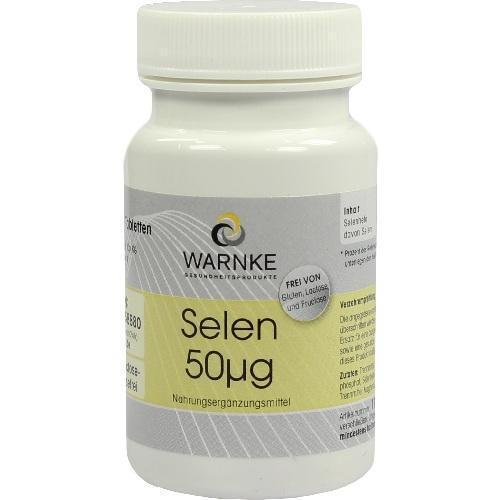 SELEN 50 µg Tabletten 100St Tabletten PZN 4874227