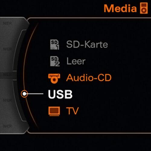 AMI MMI USB Cable Adaptador p// VW Seat Skoda Audi A3 A4 S4 A5 A6 S6 A8 S8 Q3 Q5